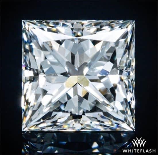 Ingrandimento diamante purezza SI2