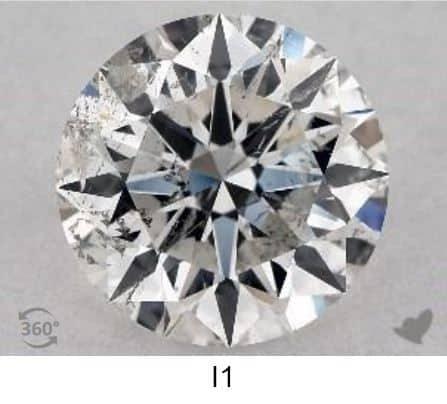 purezza diamanti i1