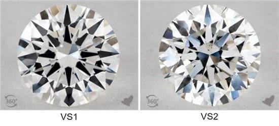 purezza diamanti vvs1 vvs2