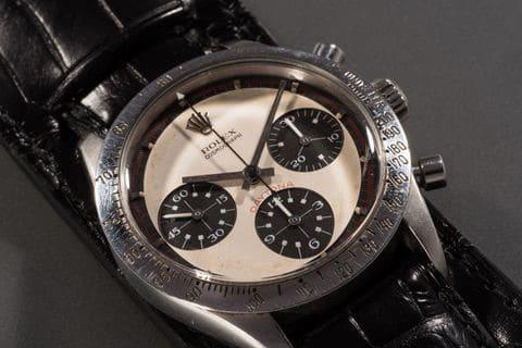 d931fd158da340 Il famosissimo Rolex donato a Paul Newman dalla moglie Joanne Woodward nel  1968, il Paul Newman Daytona, è considerato da decenni un orologio  inarrivabile, ...