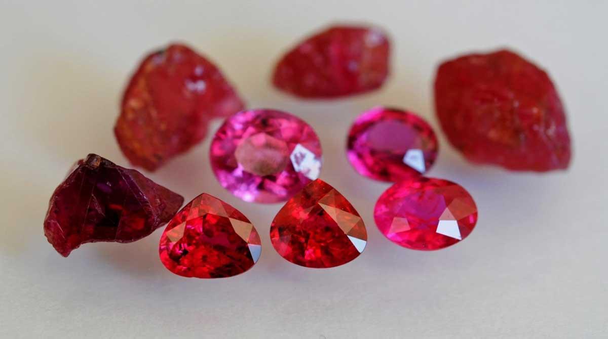Rubini pietre preziose