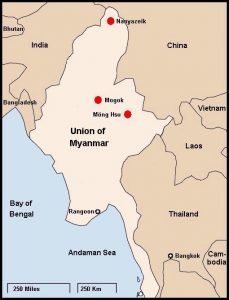 rubino mogok Myanmar