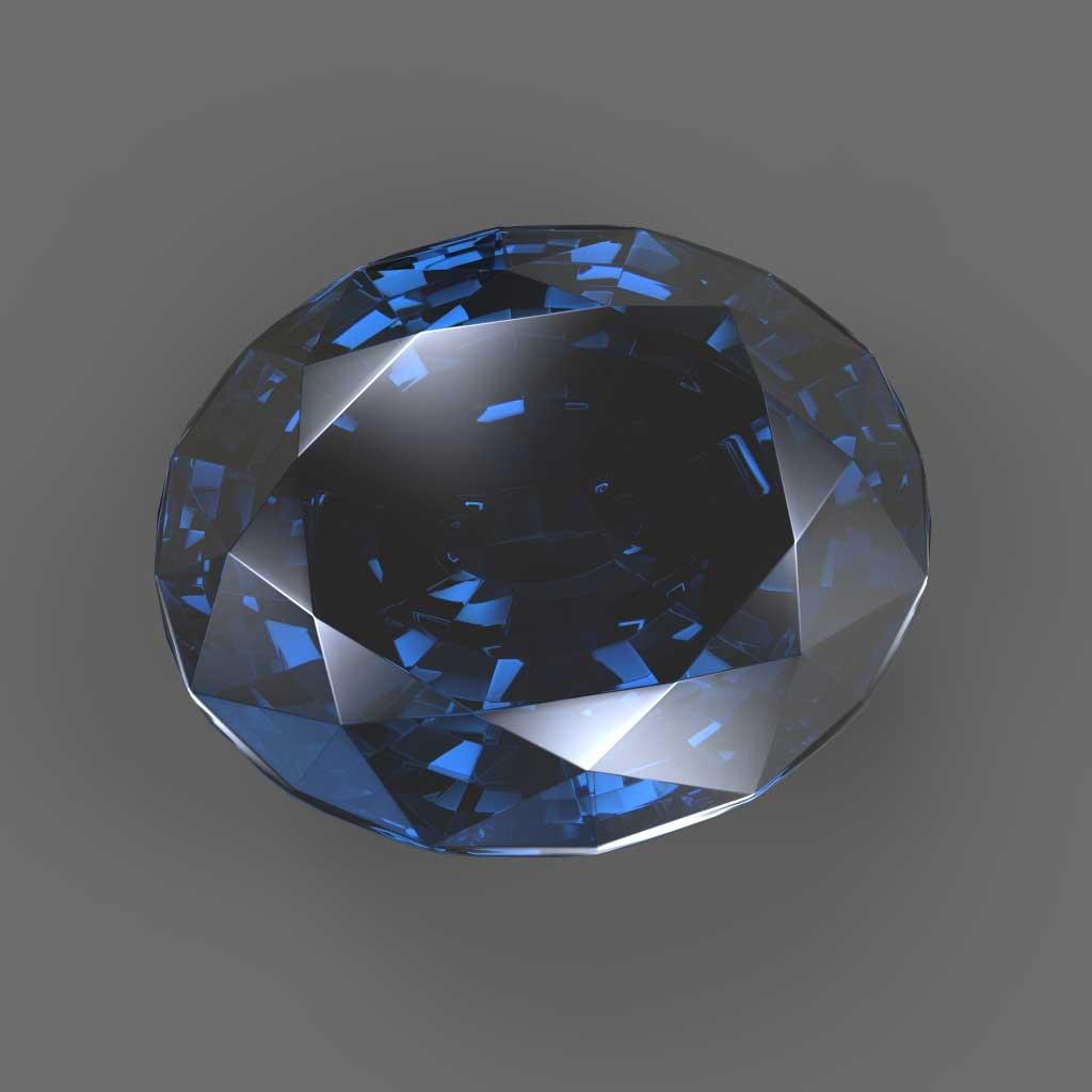 Il diamante blu come pietra preziosa