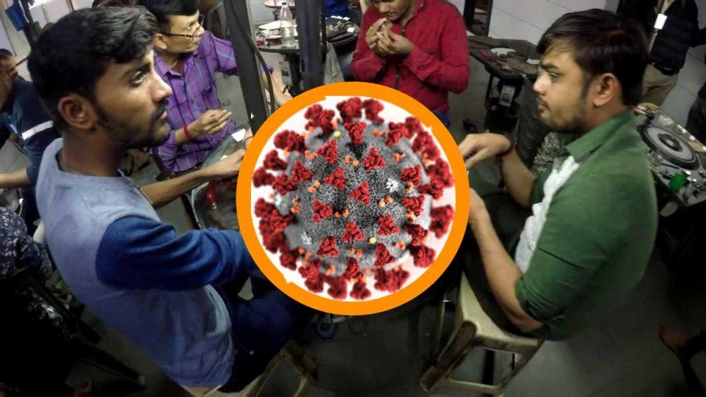 Coronavirus India diamanti