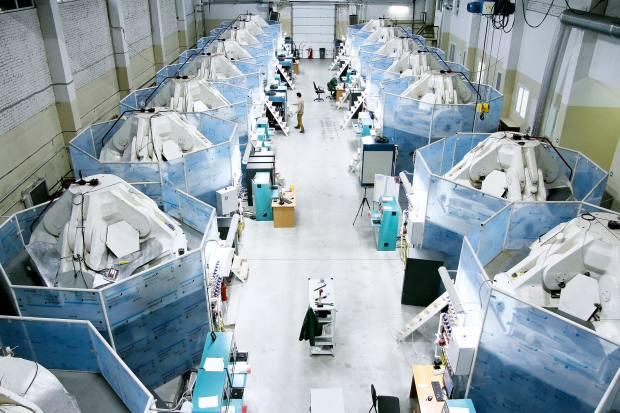 laboratorio per la produzione di diamanti